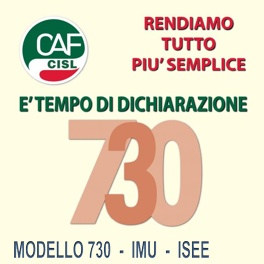 Flaei cisl acea caf cisl 730 for Documenti per 730